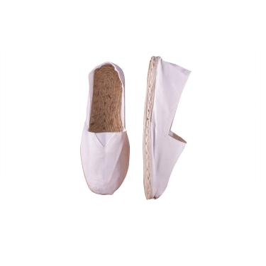 ESPADRILLES IN CANVAS AND JUTE (white, green, blue, maroon)